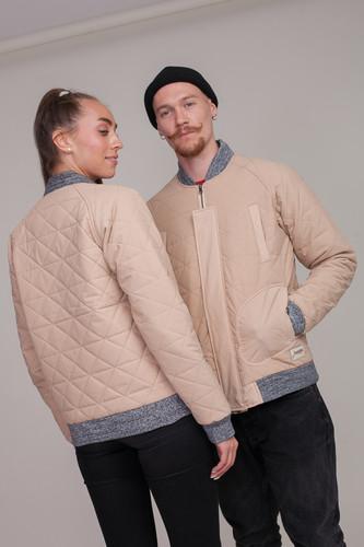 Куртка ЗАПОРОЖЕЦ Short Fufaika FW18 (Beige, 2XL) цена и фото