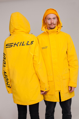 Плащ SKILLS Rainblock Yellow фото 2