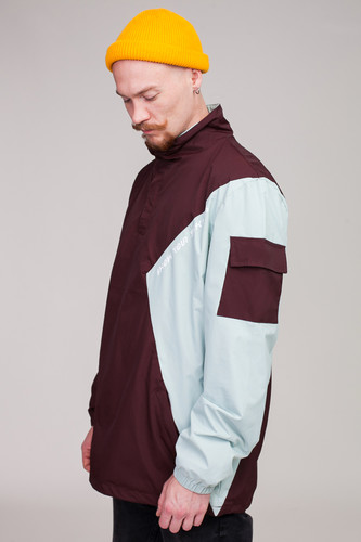 Анорак SKILLS Nohood Neighbourhood Brown/Lt. Blue фото 16
