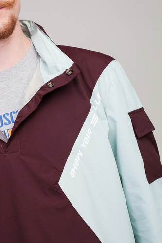 Анорак SKILLS Nohood Neighbourhood Brown/Lt. Blue фото 18