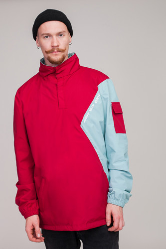 Анорак SKILLS Nohood Neighbourhood Red/Blue фото 17