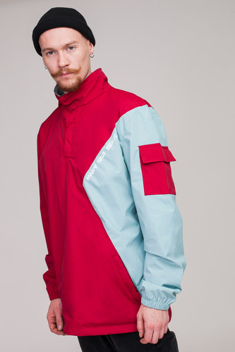 Анорак SKILLS Nohood Neighbourhood Red/Blue фото 18