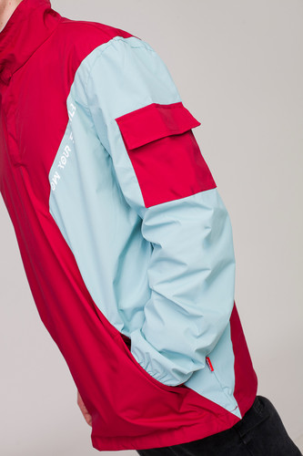 Анорак SKILLS Nohood Neighbourhood Red/Blue фото 20