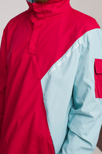 Анорак SKILLS Nohood Neighbourhood Red/Blue фото 21