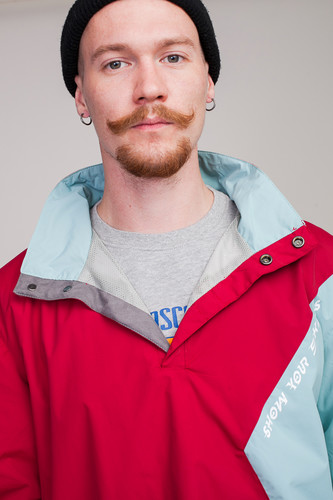 Анорак SKILLS Nohood Neighbourhood Red/Blue фото 23