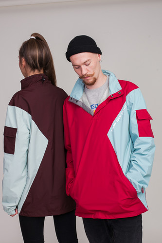 Анорак SKILLS Nohood Neighbourhood Red/Blue фото 25