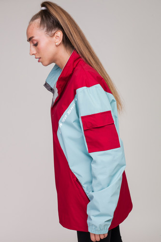 Анорак SKILLS Nohood Neighbourhood Red/Blue фото 28