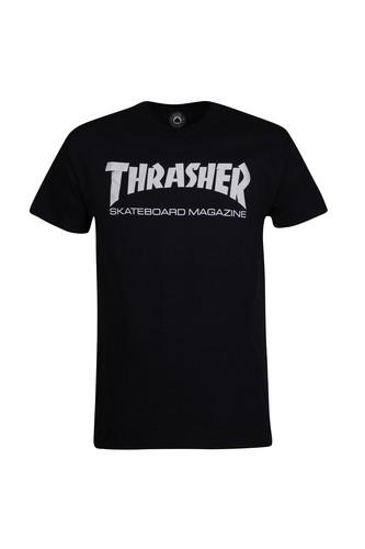 Футболка THRASHER SKATE MAG (Black, M) thrasher толстовка thrasher skate mag gray xl