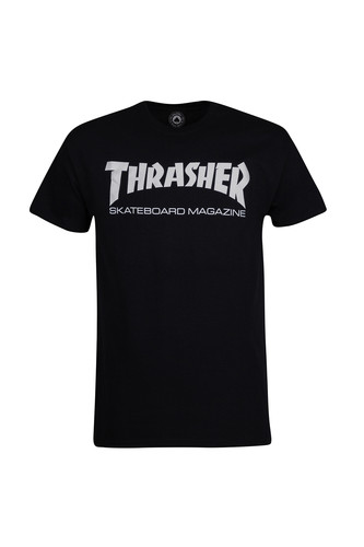 Футболка THRASHER SKATE MAG (Black, 2XL) цена