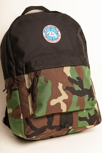 купить Рюкзак ANTEATER Bag Crd (Black-Camo) по цене 2499 рублей