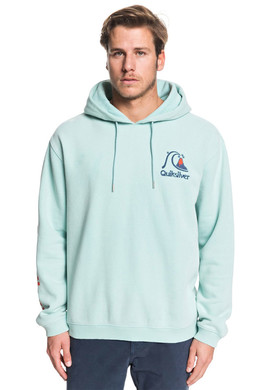 Худи QUIKSILVER Sweet As Slab PASTEL TURQUOISE (bfq0) фото