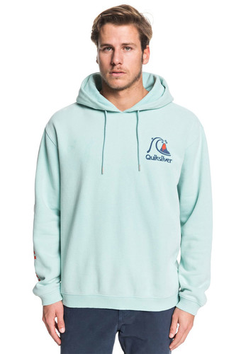 Худи QUIKSILVER Sweet As Slab PASTEL TURQUOISE (bfq0) фото 5