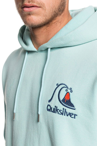 Худи QUIKSILVER Sweet As Slab PASTEL TURQUOISE (bfq0) фото 7