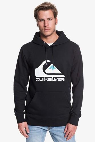 Худи QUIKSILVER Omni Logo kvj0 (BLACK (kvj0), S) худи quiksilver quiksilver qu192emfzpt1
