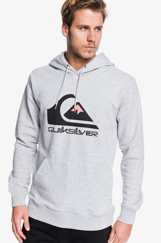 Худи QUIKSILVER Omni Logo sgrh (ATHLETIC HEATHER (sgrh), L)