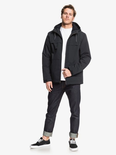 Ветровка QUIKSILVER Waiting Period BLACK (kvj0) фото 6