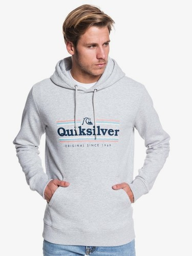 Худи QUIKSILVER Get Buzzy ATHLETIC HEATHER (sgrh) фото 5