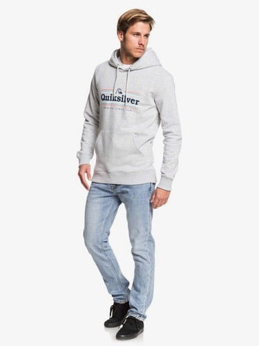 Худи QUIKSILVER Get Buzzy ATHLETIC HEATHER (sgrh) фото 7