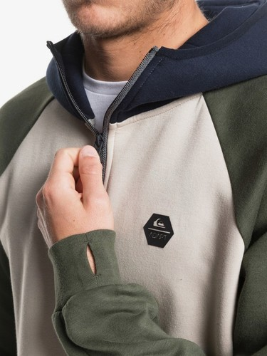 Толстовка QUIKSILVER Adapt PURE CASHMERE (clb0) фото 7