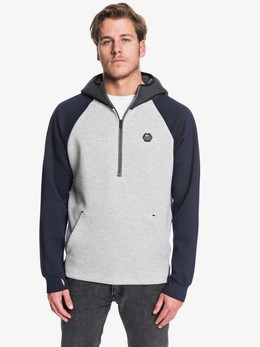 Толстовка QUIKSILVER Adapt LIGHT GREY HEATHER (sjsh) фото
