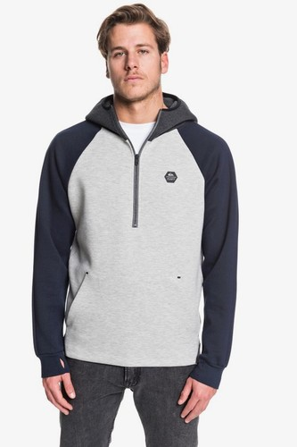 Толстовка QUIKSILVER Adapt (LIGHT GREY HEATHER (sjsh), S)