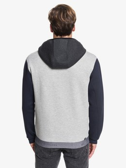 Толстовка QUIKSILVER Adapt LIGHT GREY HEATHER (sjsh) фото 2