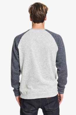 Свитшот QUIKSILVER Keller Block LIGHT GREY HEATHER (sjsh) фото 2