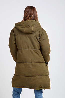 Пуховик BILLABONG UNDER SPELL Olive фото 2