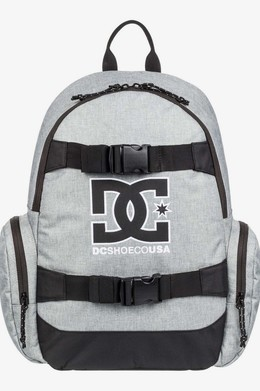 Рюкзак DC SHOES Lock Clocker Grey Heather фото