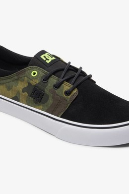 Кеды DC SHOES Trase TX SE Black/Camo фото