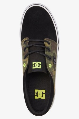 Кеды DC SHOES Trase TX SE Black/Camo фото 2
