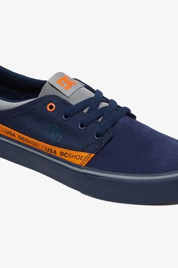 Кеды DC SHOES Trase TX SE Black-Orange фото