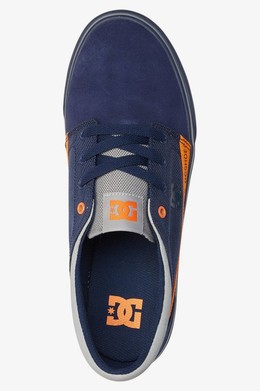 Кеды DC SHOES Trase TX SE Black-Orange фото 2