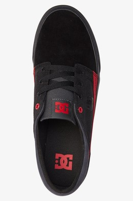 Кеды DC SHOES Trase TX SE Black/Red/Black фото 2