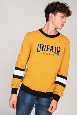 Толстовка UNFAIR ATHLETICS College Yellow фото