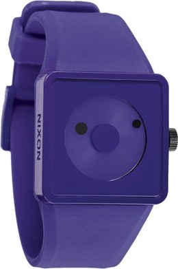 Часы NIXON The Newton Purple фото