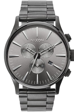 Часы NIXON Sentry Chrono ALL GUNMETAL фото