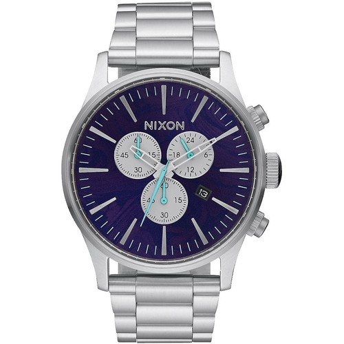 Часы NIXON Sentry Chrono Purple фото 2