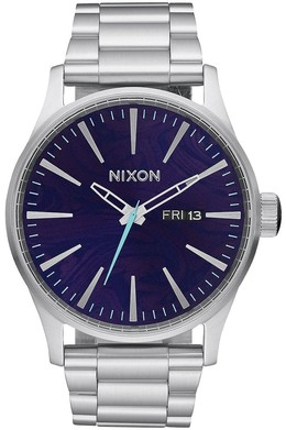 Часы NIXON Sentry SS Purple фото
