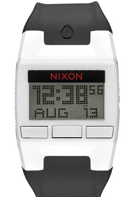 Часы NIXON COMP White/Black фото