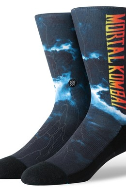 Носки STANCE FOUNDATION MORTAL KOMBAT II Black фото