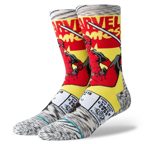 Носки STANCE DISNEY MENS DEADPOOL COMIC Grey фото 2