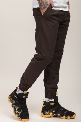 Брюки ANTEATER Simple Joggers Brown фото