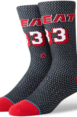 Носки STANCE NBA LEGENDS MOURNING HWC JERSEY Black фото