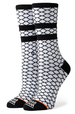 Носки STANCE FISH NETS White фото
