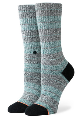 Носки STANCE FOUNDATION WOMEN PUNKED CREW Green фото
