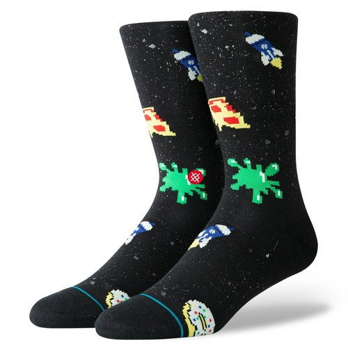 Носки STANCE LIFESTYLE SPACE FOOD Black фото 3