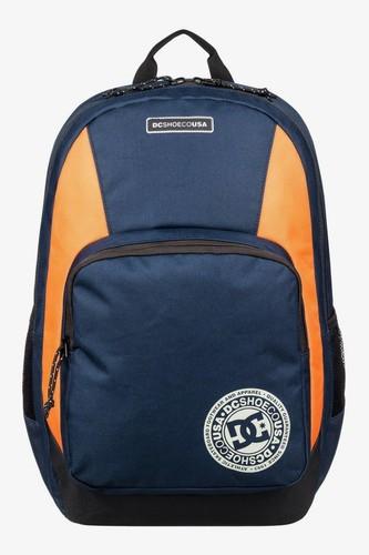 цена на Рюкзак DC SHOES The Locker 23L (Black Iris/Orange Popsicle)