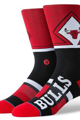 Носки STANCE NBA ARENA BULLS SHORTCUT Red фото