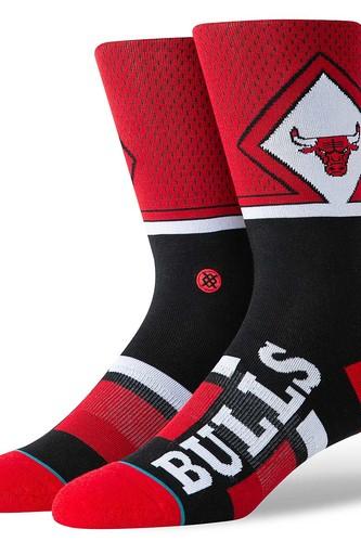 Носки STANCE NBA ARENA BULLS SHORTCUT (Red, L) носки stance nba arena bulls 96 hwc black l